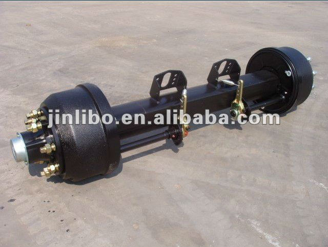 English Type Axle -ISO stud Square 10 holes Axle trailer parts