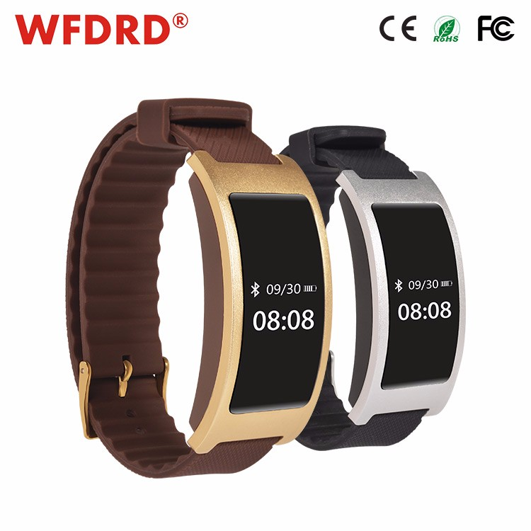 RFID body fitness pedometer tamper proof hands lady watch for remedying high blood pressure