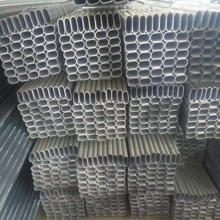 factory abundant supply special pipe galvanized oval tube and pipe