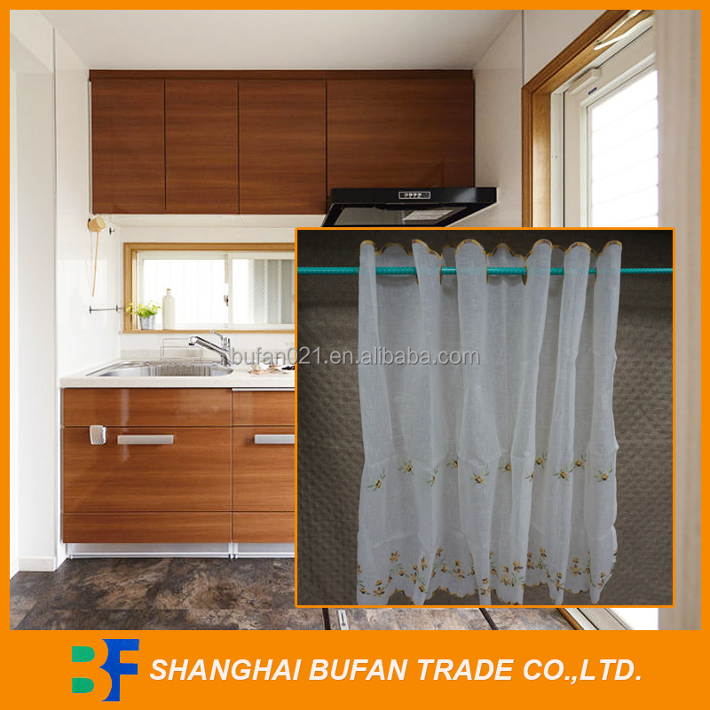 Different styles best selling hot sell polyester embroidery curtain