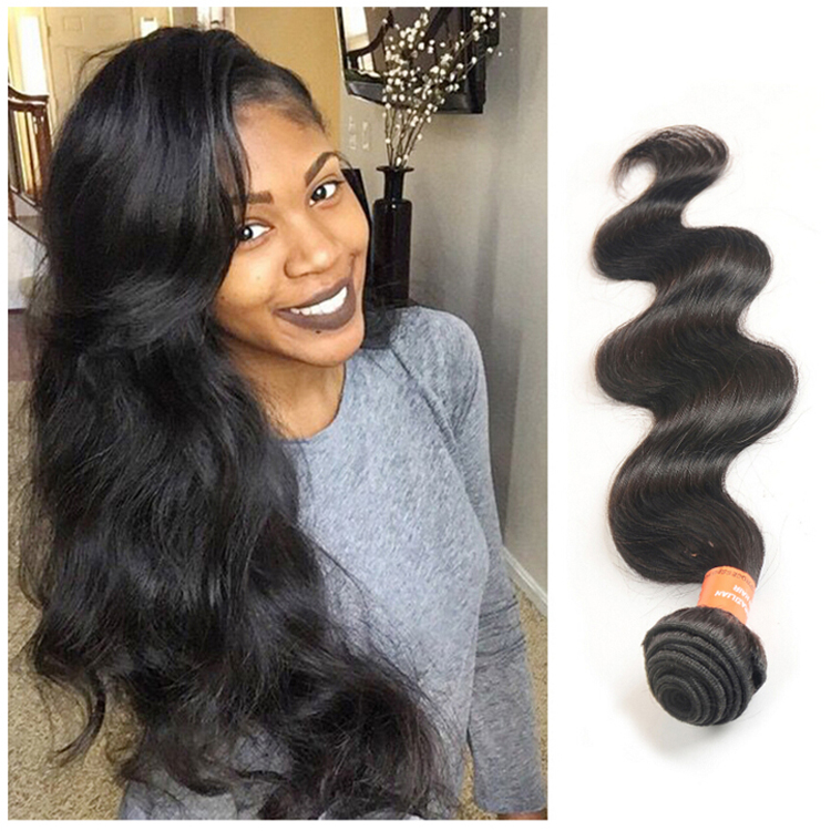 Hot Selling 4 Bundles Deal Good Quality Natural Body Wave 8A Grade Virgin Brazilian <strong>Hair</strong>