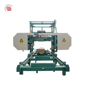 Furniture making MJ800 Factory Price Portable Horizontal Band Sawmill's (Electrical Engine)