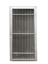 Clean room air flow system aluminum grating panel