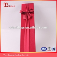 Red Color Cheap Paper Jewelry Boxes Wholesale