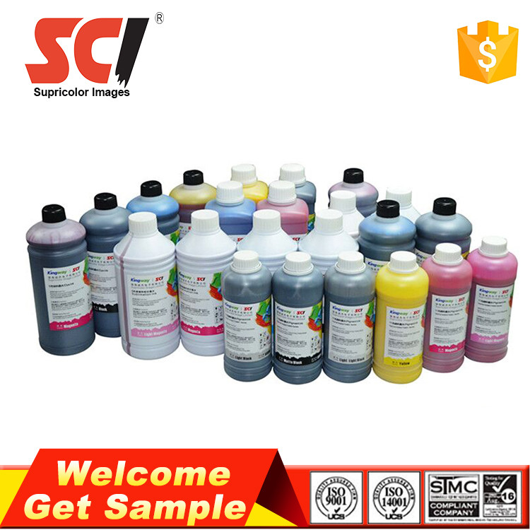 Supricolor Professional ink factory supply 5 color for epson dx5 uv ink