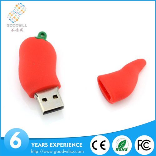 Good after-sales service pepper shape micro usb memory disk