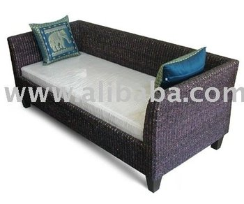 Thai rattan sofa bed buy thai rattan sofa bed product on for Sofa bed thailand