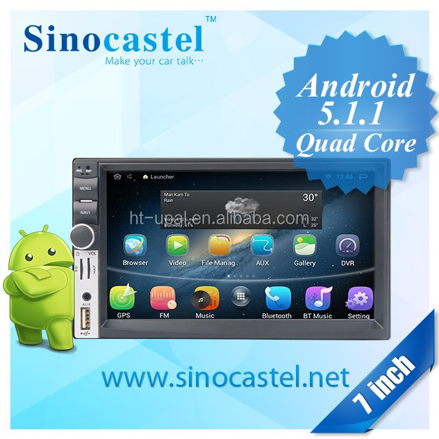 Universal Quad core android car GPS for Universal android 5.1 car dvd player