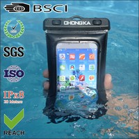 Newest high quality waterproof dry bag for iphone 4 with armband