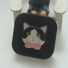 New cool cat dog contact lens box frosting the eye contact box