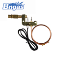 B880307factory of room safety gas heater parts ods pilot burner with flame sensor