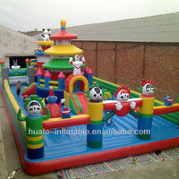 inflatale fun cartoon city toys inflatable combo