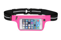 Touch Screen Sport Cell Phone Waist Bag Fanny Pack Waterproof Running Mobile Phone Case for IPHONE 6 Pocket