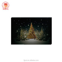 2017 canton fair hot low quantity led canvas prints oil paintings for sale