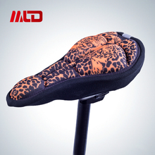 2017 New Fitness Cycling Lycra +GEL Saddle Cover Comfortable Cushion Soft Seat Cover for Bike