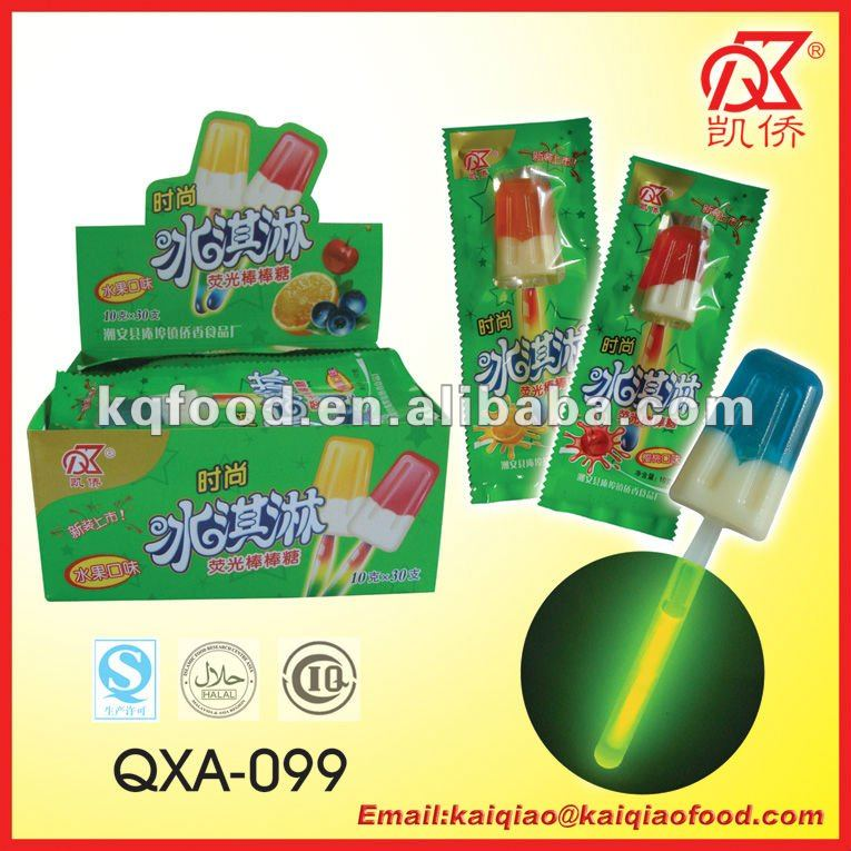 10g Halal Double Color Ice Cream Candy