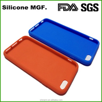 hot sale 3D silicone mobile phone cover OEM beautiful cell phone case