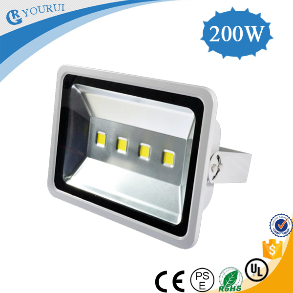 2014 NEW Bridgelux and MEANWELL Driver IP65 Outdoor 200w high power dimmable rgb led flood light