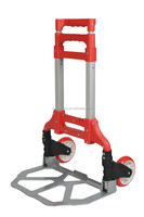 Folding luggage cart hot sale supermarket pushing a shopping cart