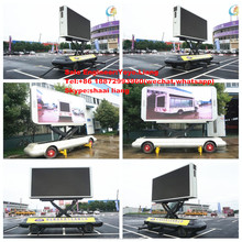 High Definition P5 P6 P8 P10 Full Color Commercial Advertising Outdoor Mobile Led Screen Trailer