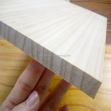 panel wood pine finger joint for cabinet