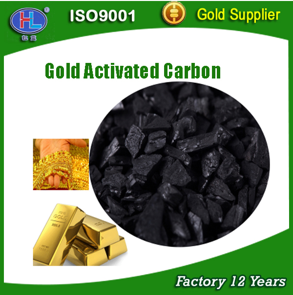 Coconut shell granular activated carbon for gold mining