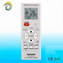Offer best quality remote control for air conditioner qunda kt codes