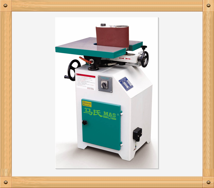 MM2115 vertical sponge roller belt sander