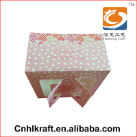 Competitive Different design with window gift paper box