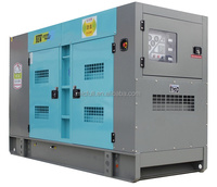 250kva 3phase 4wires Cummins engine Silent diesel generator