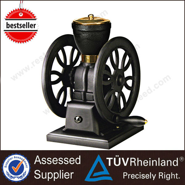 Top Quality Shine Long Double Flywheels Industrial Grinder Coffee