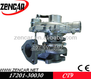 Stock!! CT9 for toyota turbo diesel for sale Land Cruiser 2.5L Diesel with 2KD-FTV Engine 17201-30030