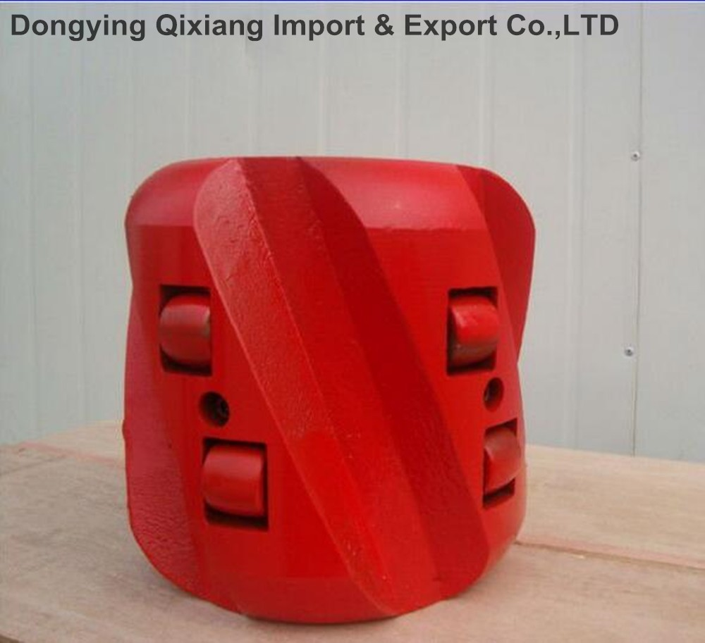 "API 4-1/2""x6 oil casing cementing tool Zinc Alloy rigid Centralizer"
