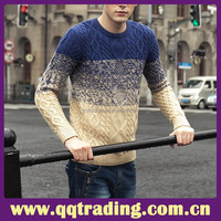 Adult pullover european style sweater for men