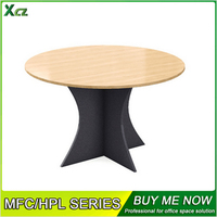 Hot Sale wood small round office meeting table & office furniture table designs & office table designs in wood