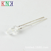 0.5w 5mm LED Straw hat Blue Water Clear