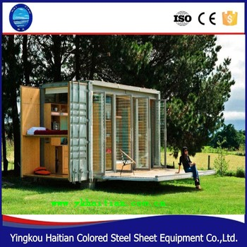 Mobile Home Cabin expandable container house for sale