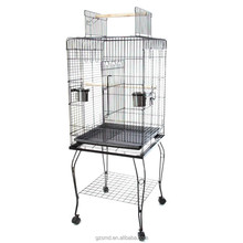 Parrot Bird Cockatiel Parakeet Macaw Finch Cage Playtop Gym Perch Stand
