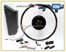 48v 1000w motor e bike kit 48V1000W electric bicycle front rear wheel conversion kit