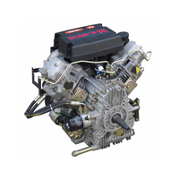 China supplier machine manufacturers twin cylinder diesel engine