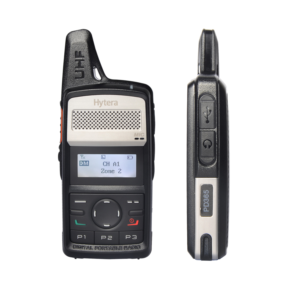 Hytera Digital Radio HYT PD365 Long Range DMR Digital Walkie Talkie Set UHF Handheld Two Way Ham Radio Communication Woki Toki