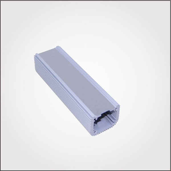 Hot sell aluminum profile housing/case with customized cover base