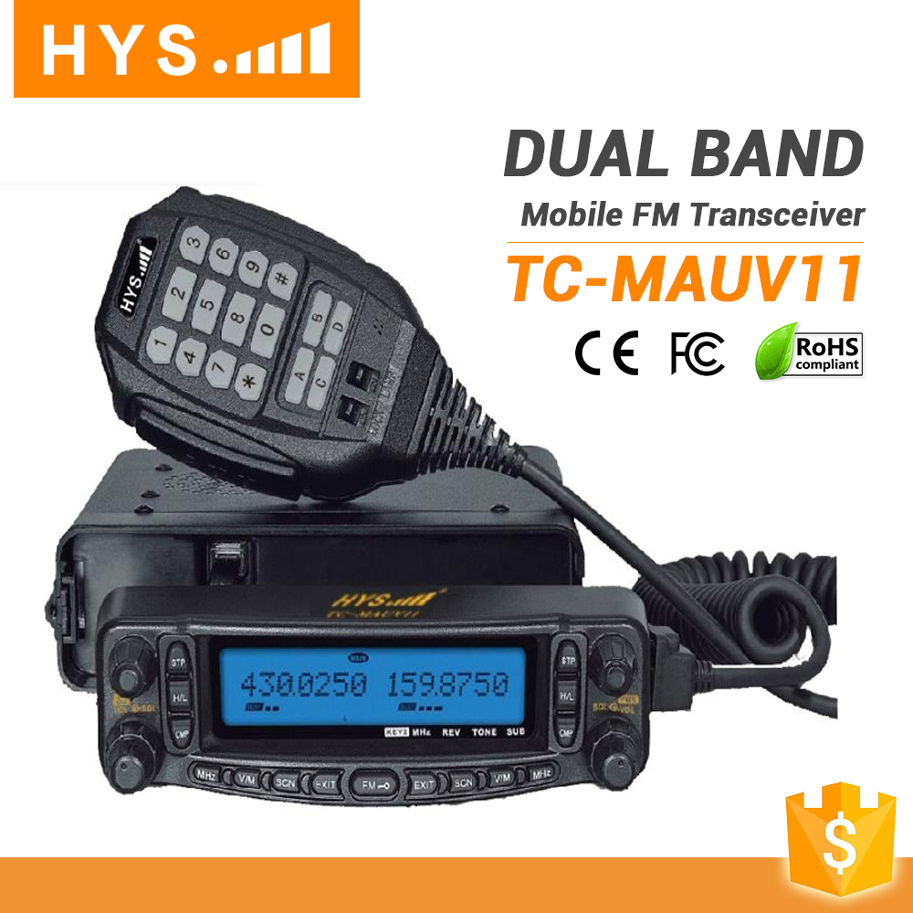 HYS Professional Dual Band Mobile Phone FM Transceiver