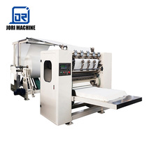 Automatic V Folded Hand Towel Embossing Facial Tissue Paper Processing Machine