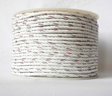 electric fence wire polyrope 500Meter per roll 6 conductive