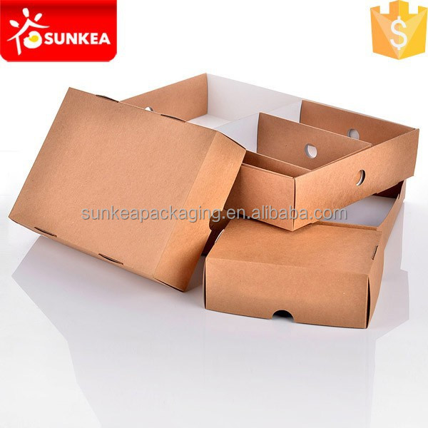 Disposable custom printed kraft paper food tray