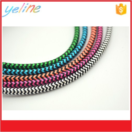 Salable goods colorful magnetic USB cable for mobile phone