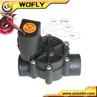 "Irrigation water valve 1"" latching 12v solenoid"