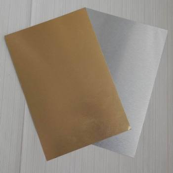 High quality Blank heat transfer sublimation aluminum sheet, glossy surface plate