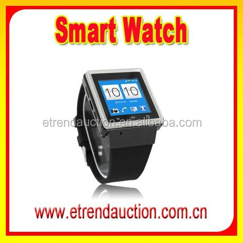 1.54Inch 2.0 MP Camera MTK 6577 Dual Core 3G Android GPS Smart Watch Phone